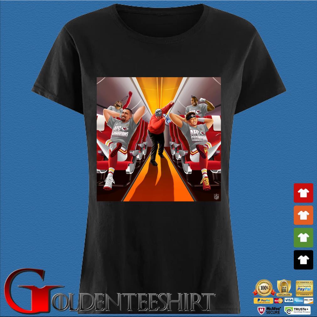 Afc Champions Kansas City Chiefs Super Bowl Lv 2021 Shirt Den Ladies