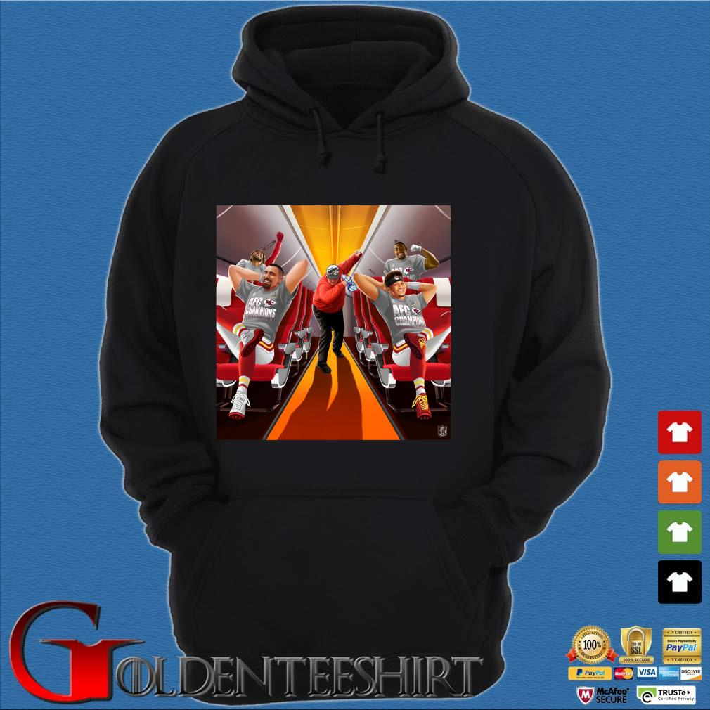 Afc Champions Kansas City Chiefs Super Bowl Lv 2021 Shirt Hoodie đen