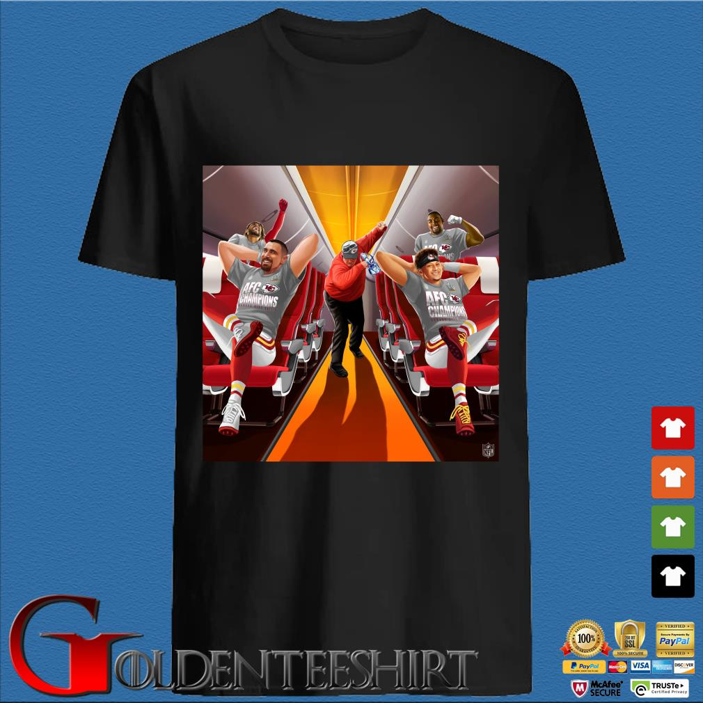 Afc Champions Kansas City Chiefs Super Bowl Lv 2021 Shirt