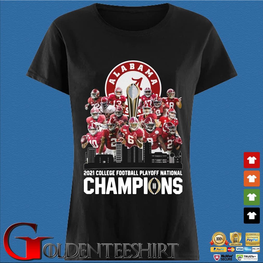 Alabama Crimson 2021 college football playoff national champions s Den Ladies