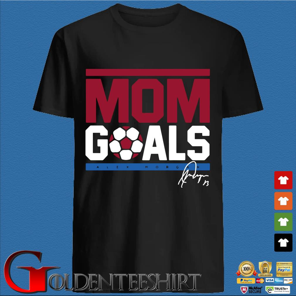 Alex Morgan Mom goals signatures shirt