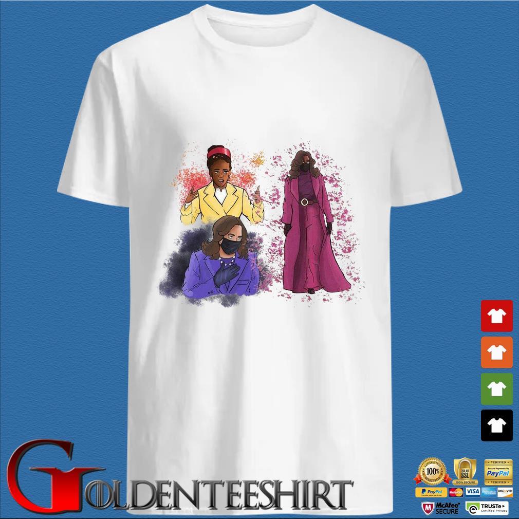 Amanda Gorman And Kamala Harris Inspiring Women Shirt