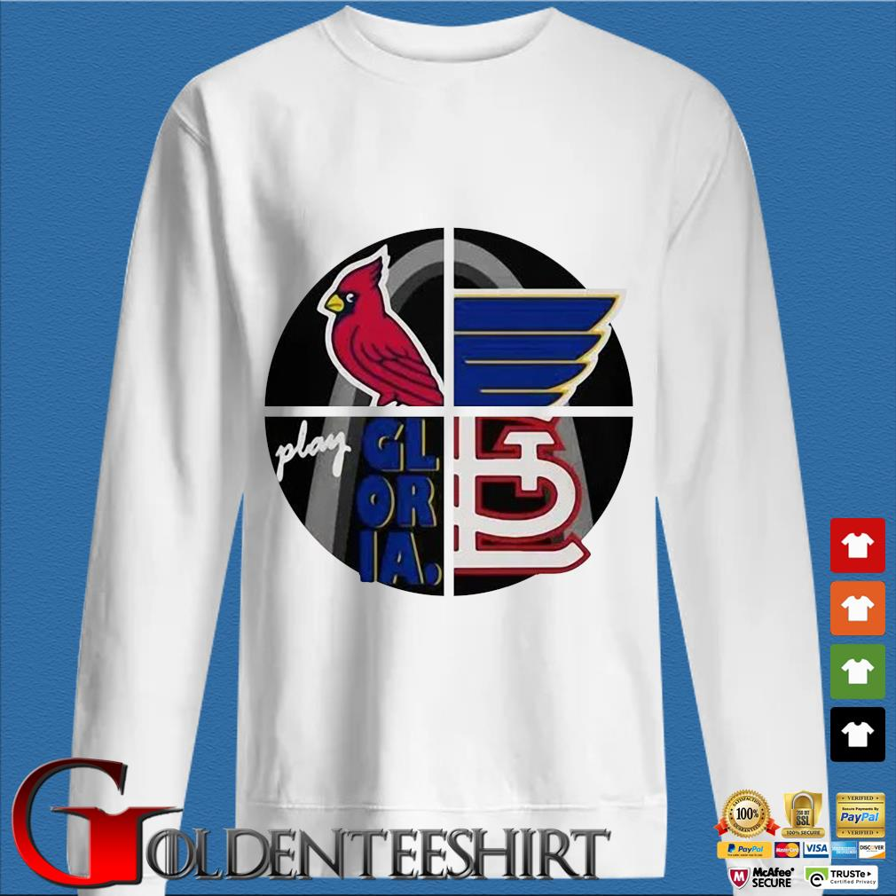 Arizona Cardinal Play Gloria Shirt trang Sweater