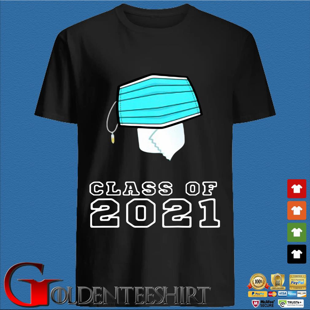 Toilet paper face mask class of 2021 shirt