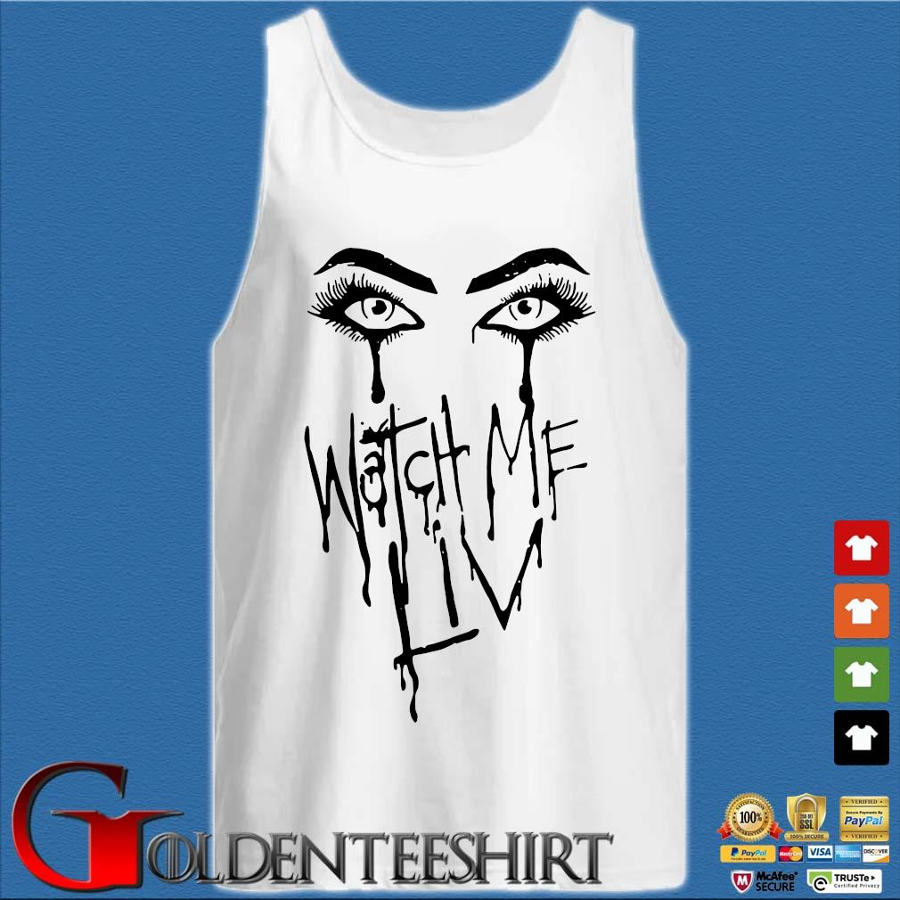 Yaonlylivvonce liv morgan watch me liv mineral wash Tank top trắng