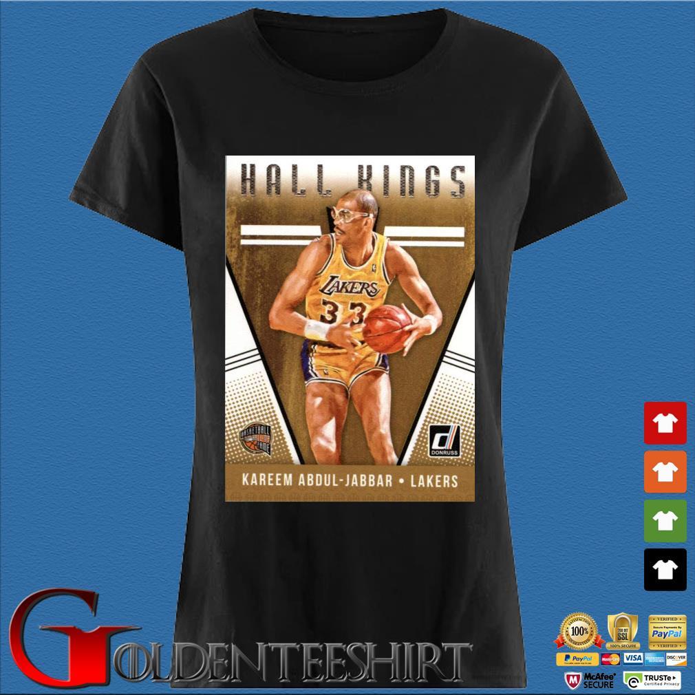 2018-2019 Donruss Hall Kings Basketball Card #12 Kareem Abdul-Jabbar Los Angeles Lakers Shirt Den Ladies