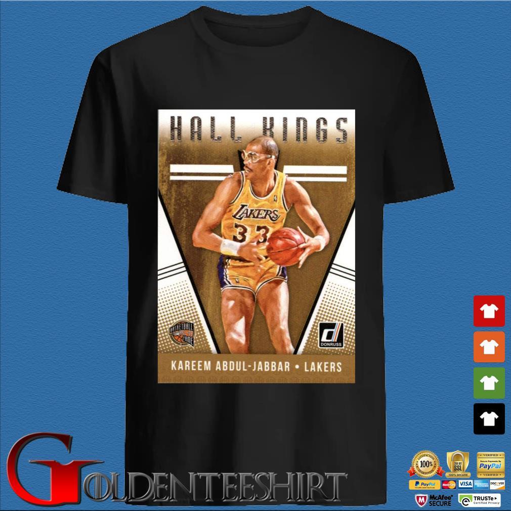 2018-2019 Donruss Hall Kings Basketball Card #12 Kareem Abdul-Jabbar Los Angeles Lakers Shirt
