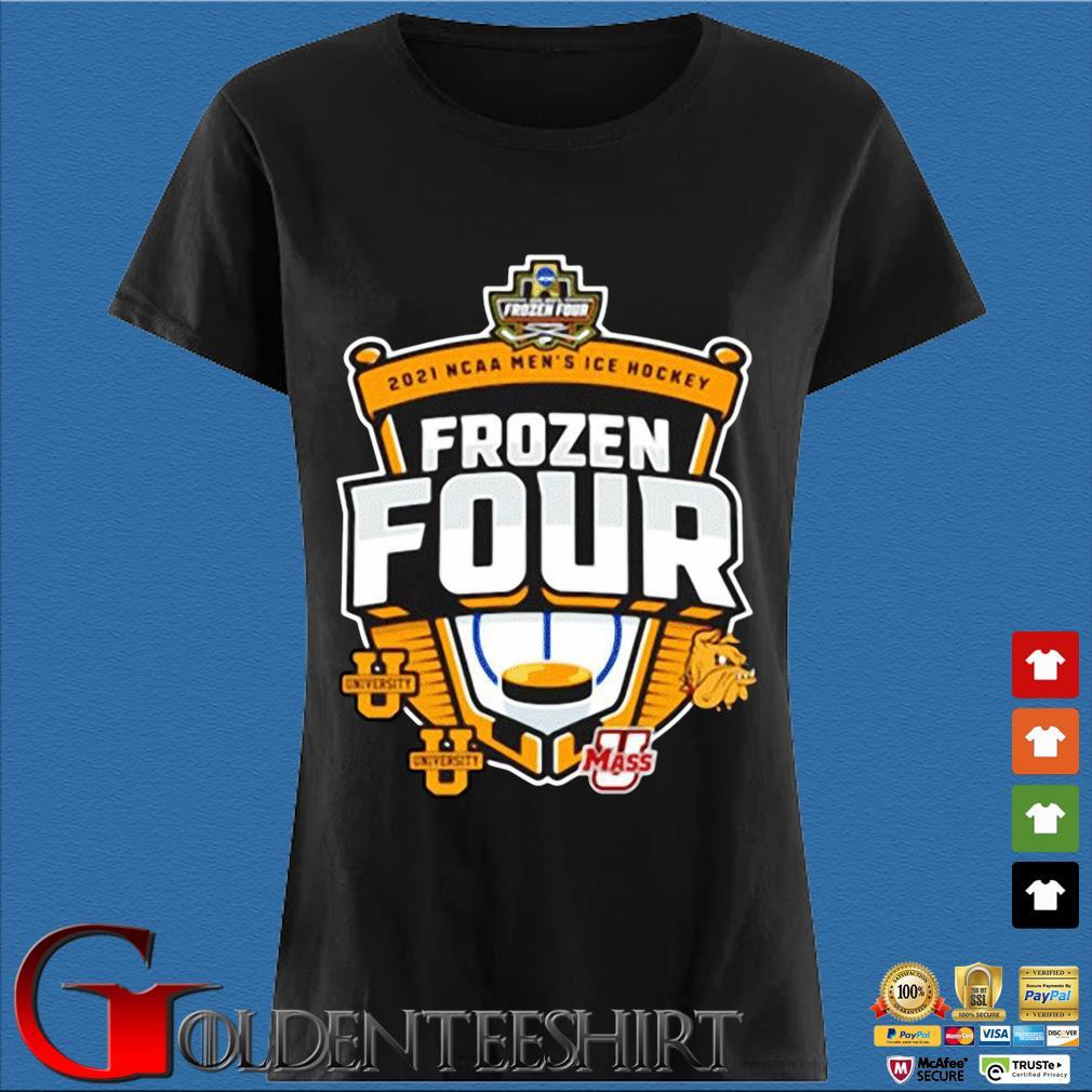 2021 Ncaa Men's Hockey Tournament Frozen Four Logo Shirt Den Ladies