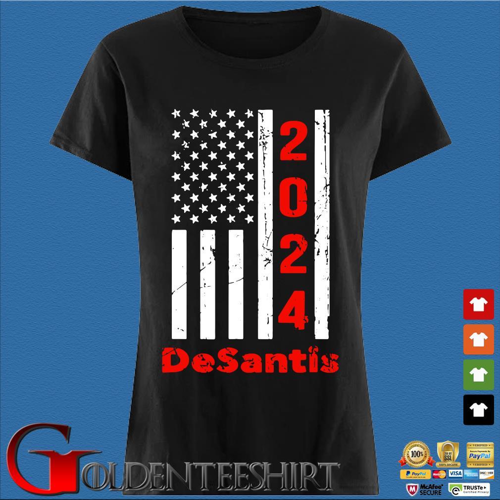 2024 desantis American flag Den Ladies