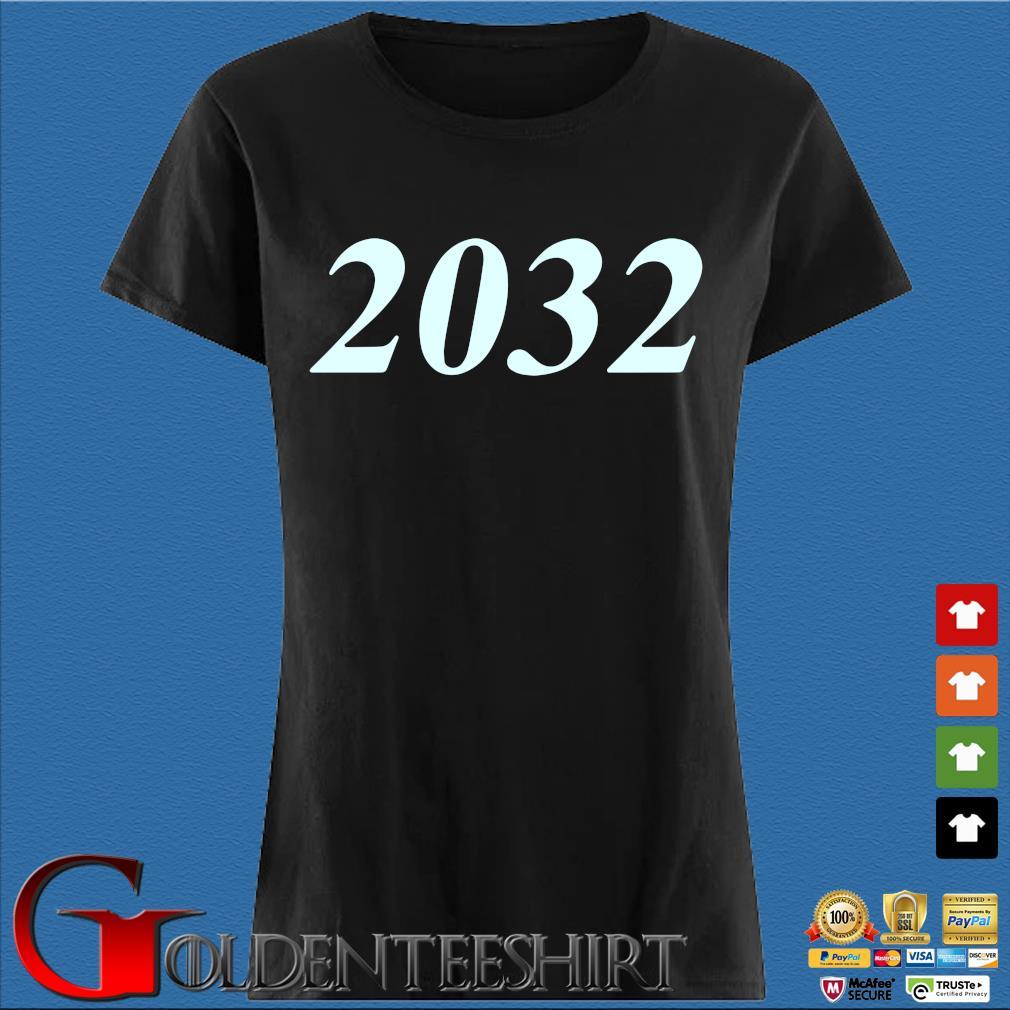 2032 Bad Bunny Shirt Den Ladies