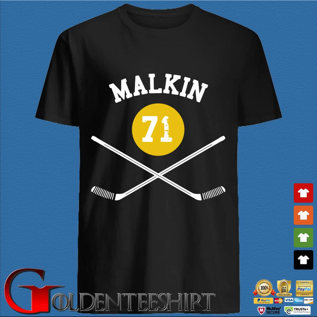 71 Evgeni Malkin Pittsburgh Sticks Shirt