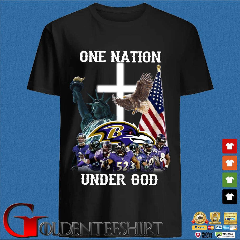 Baltimore Ravens One Nation Under God Shirt