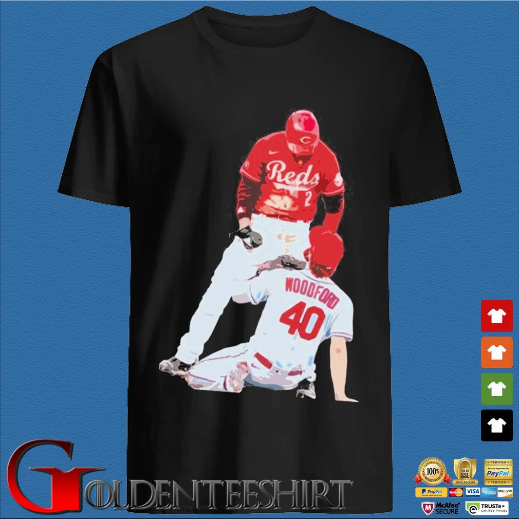 Cincinnati Reds Nick Castellanos Vs Cardinals Jake Woodford Shirt