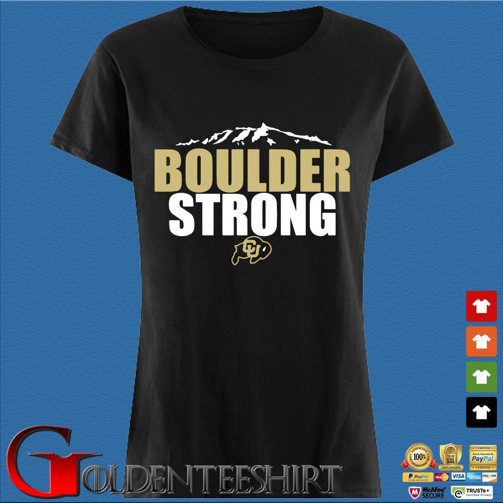 Colorado Buffaloes Boulder Strong Shirt Den Ladies