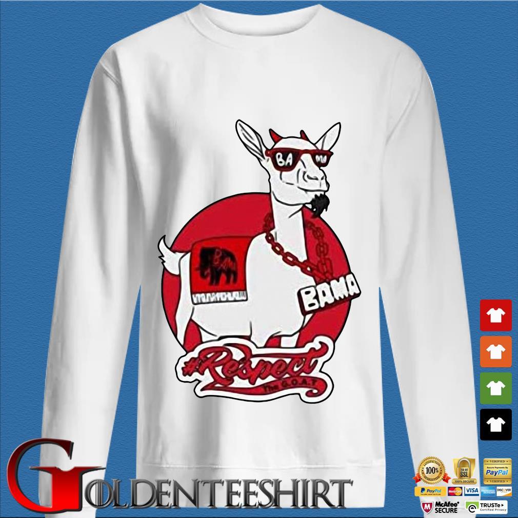 Goat Bama Respect Shirt trang Sweater