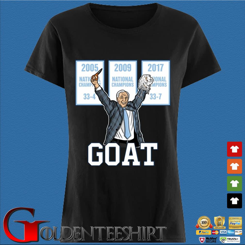 2005-2009-2017 National Championship Goat Shirt Den Ladies