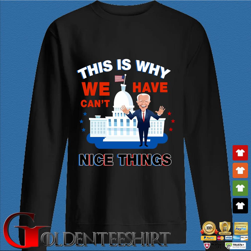 Joe Biden this is why we have can't nice things Den Sweater