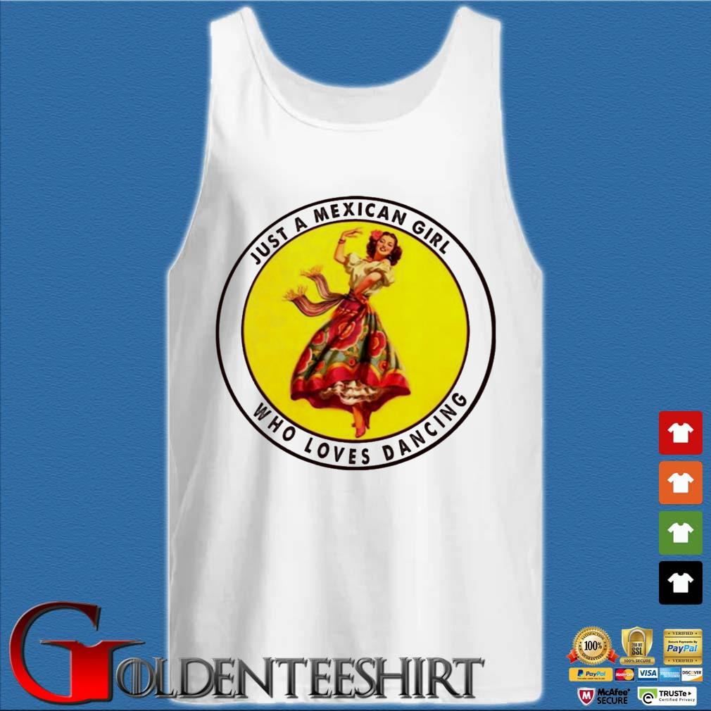 Just a mexican girl Tank top trắng