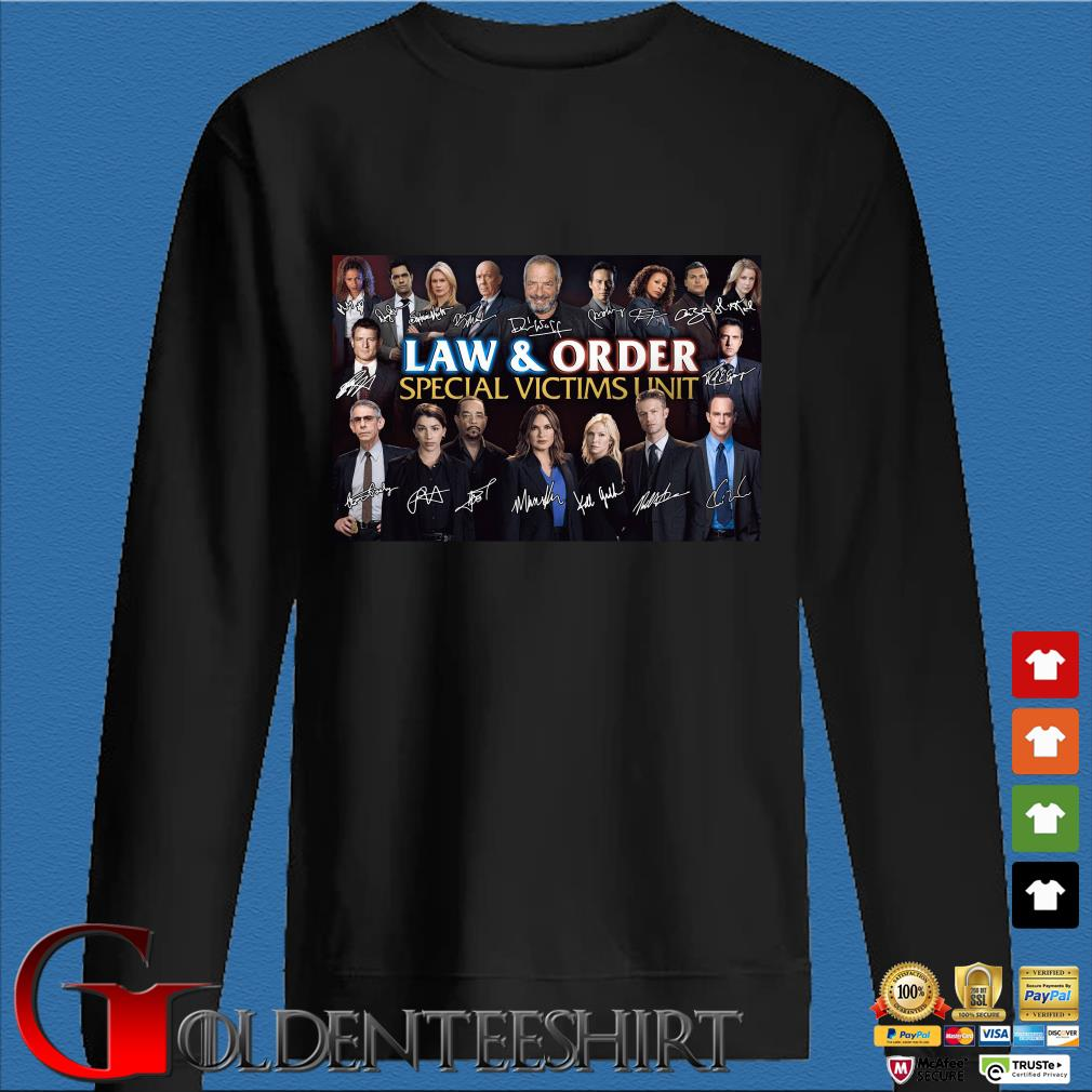 Law And Order Special Victims Unit Signatures Shirt Den Sweater