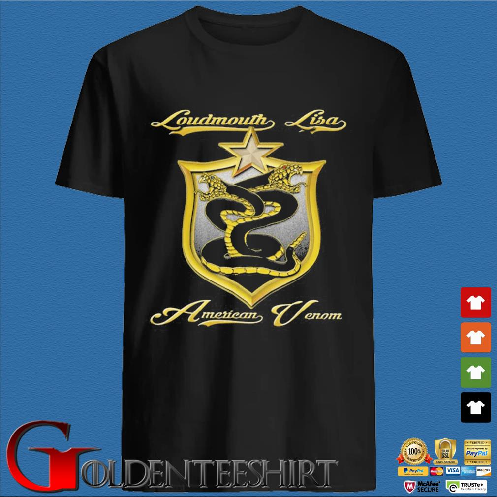 Loudmouth Lisa American Venom Shirt