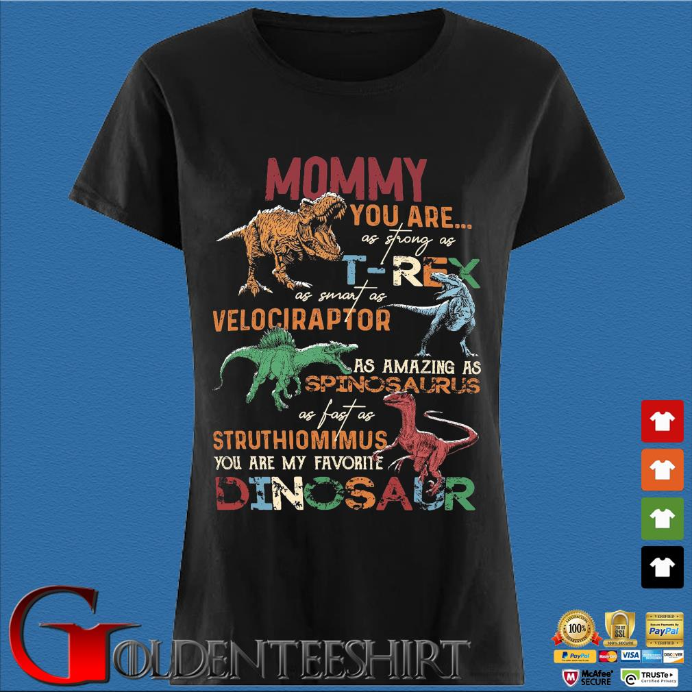 Mommy you are as strong as T-Rex as smart as velociraptor Den Ladies