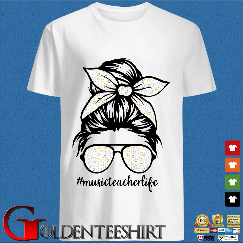 Musical Note Girl Music Teacher Life Shirt