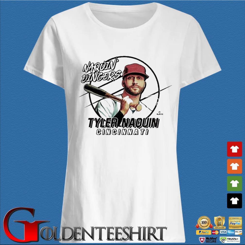 Naquin Dingers Tyler Naquin Shirt Trang Ladies