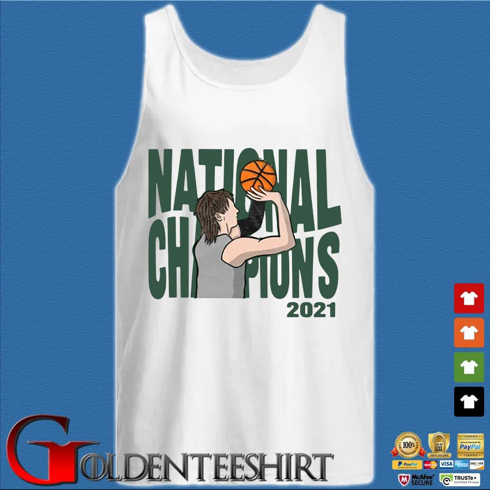 National Champions 2021 Basketball Shirt Tank top trắng