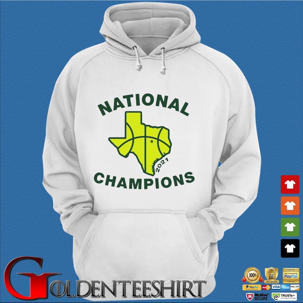 National Champions 2021 Texas Flag Map Basketball Shirt Trang Hoodie