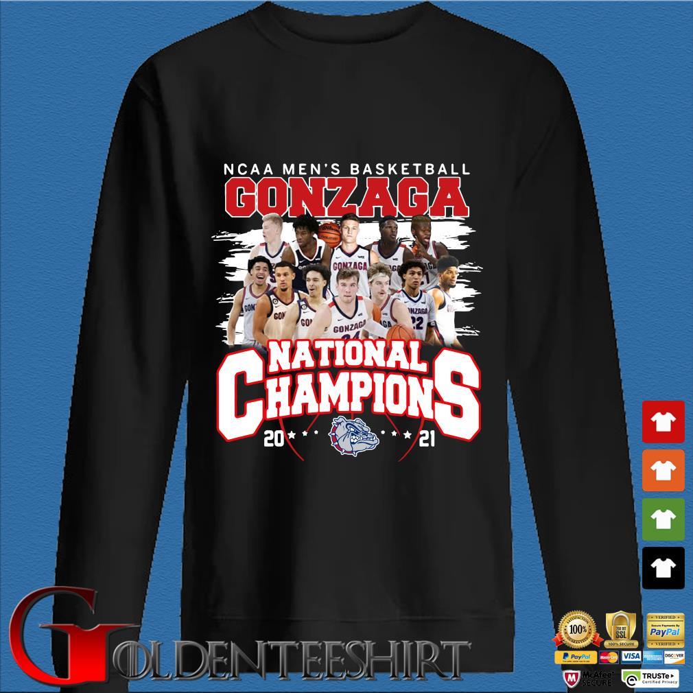 Ncaa men's basketball Gonzaga Bulldogs national champions 2021 Den Sweater