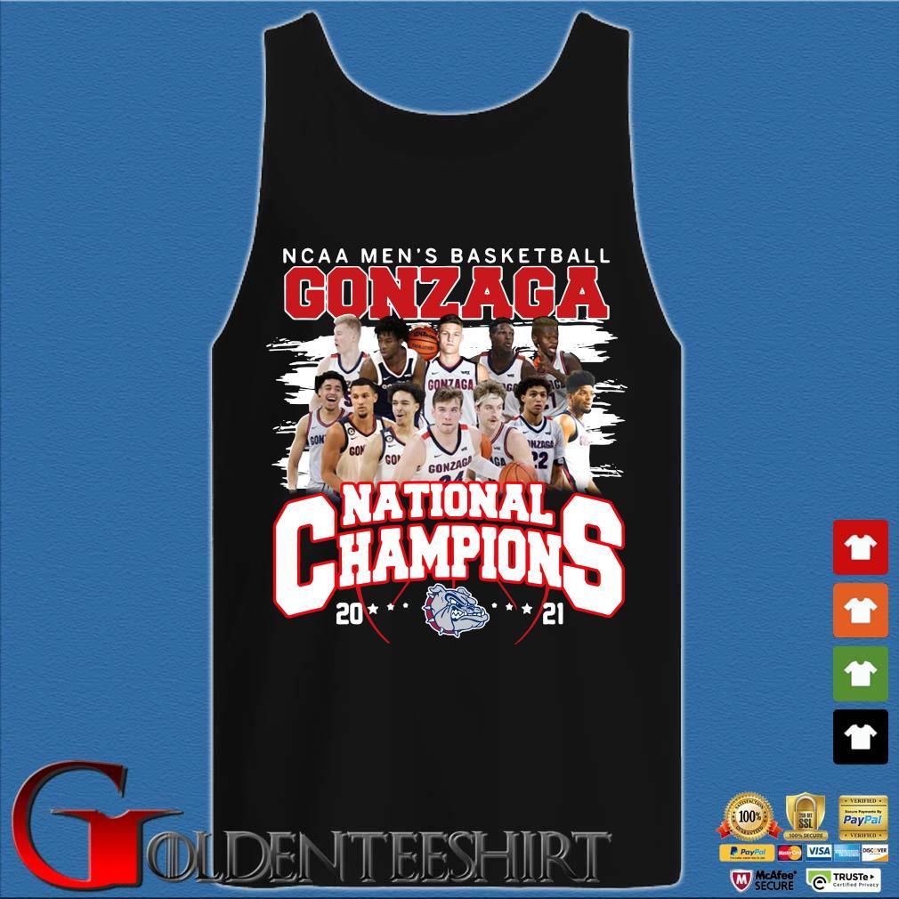 Ncaa men's basketball Gonzaga Bulldogs national champions 2021 Tank top den