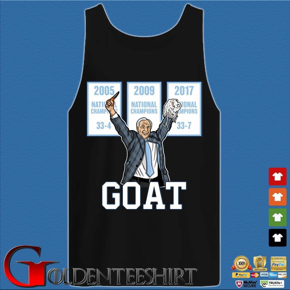 2005-2009-2017 National Championship Goat Shirt Tank top den