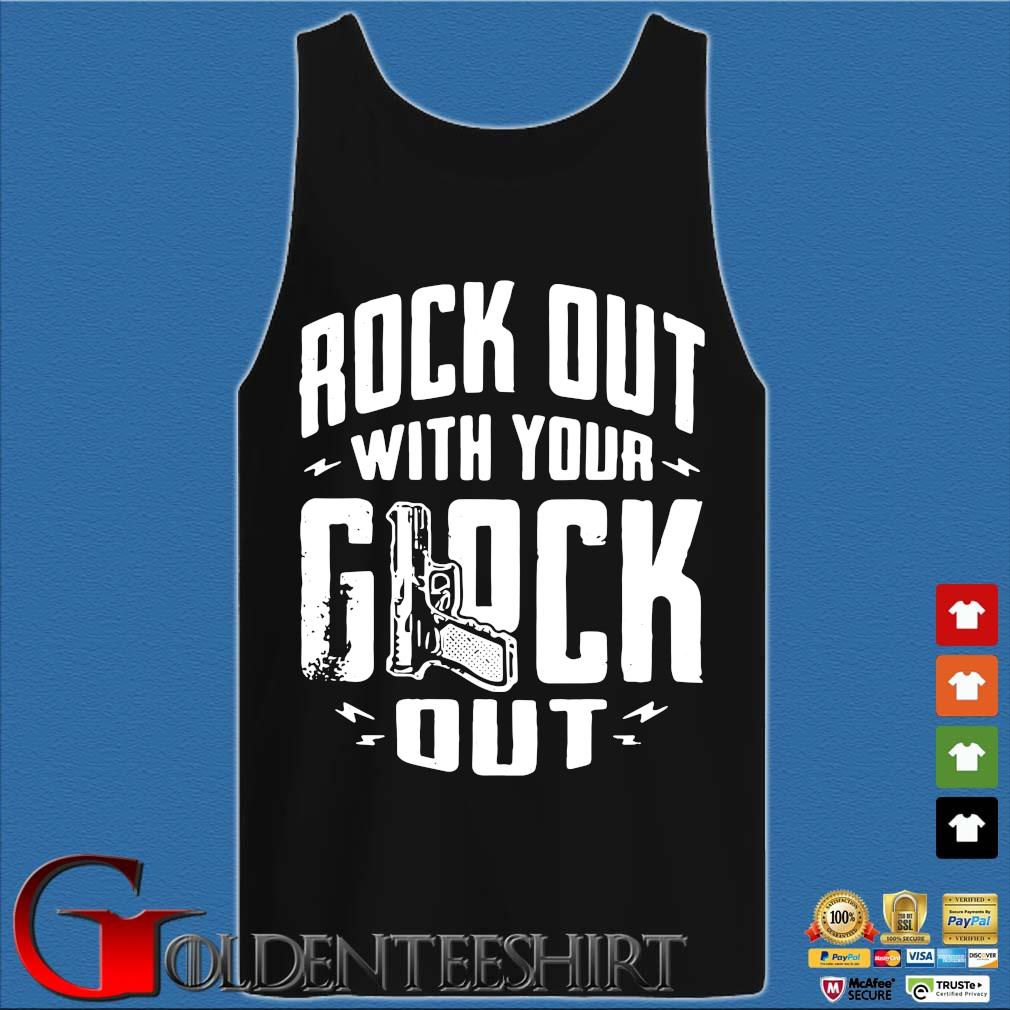 Rock out with your glock out Tank top den