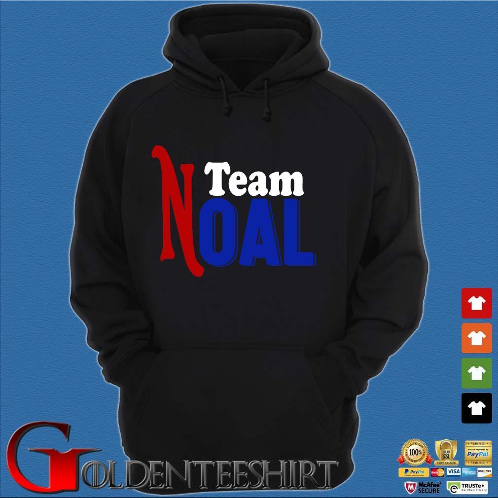 Team Noal Shirt Hoodie đen