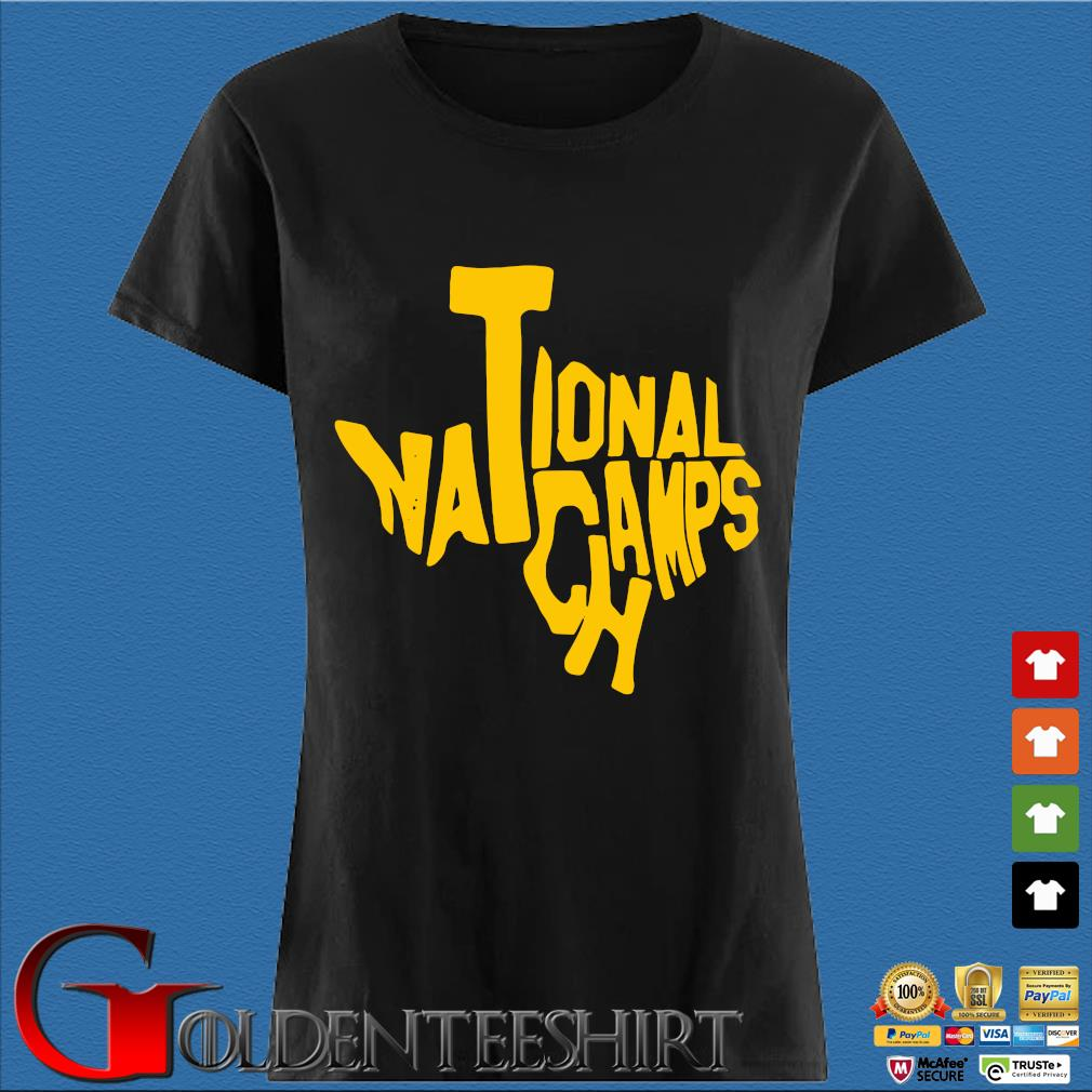Texas national Champs Shirt Den Ladies