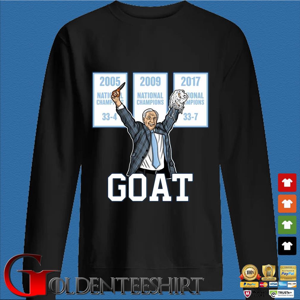 2005-2009-2017 National Championship Goat Shirt Den Sweater