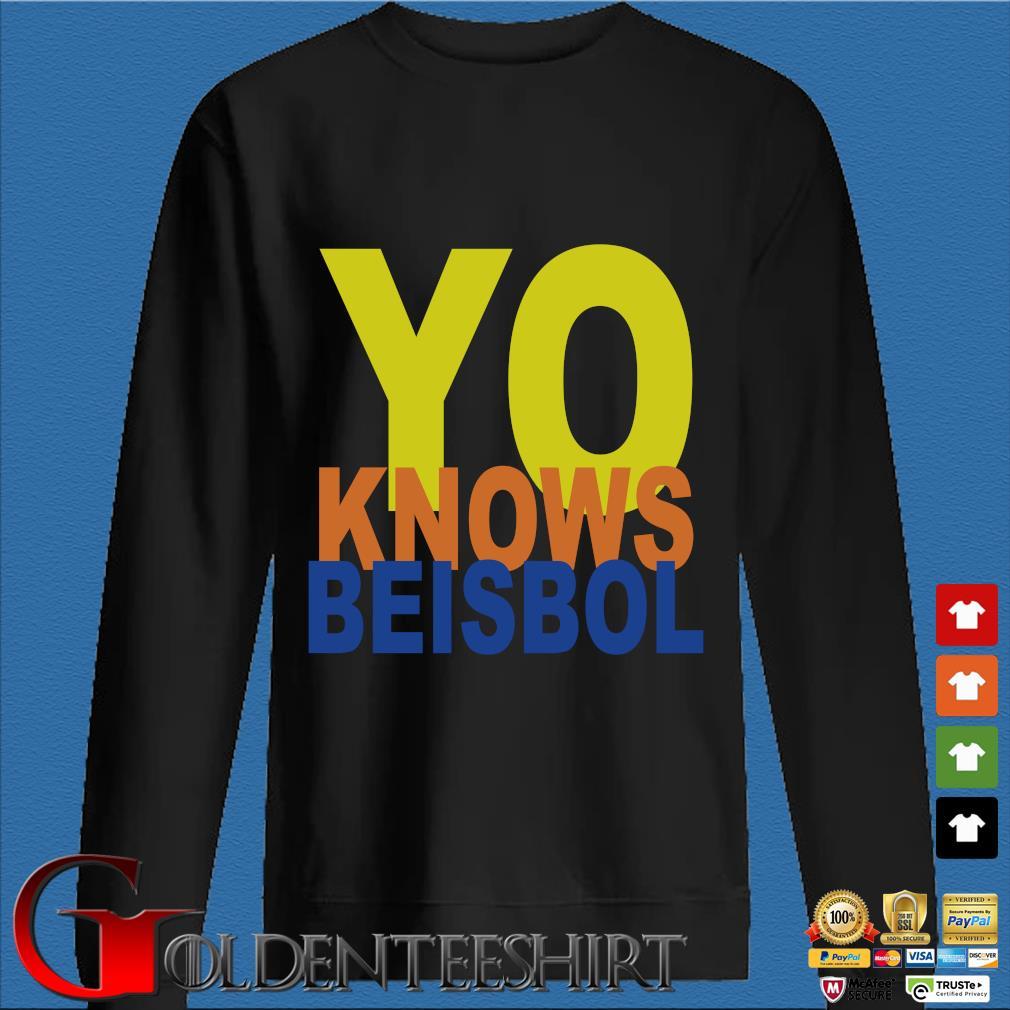 Yo knows beisbol Den Sweater