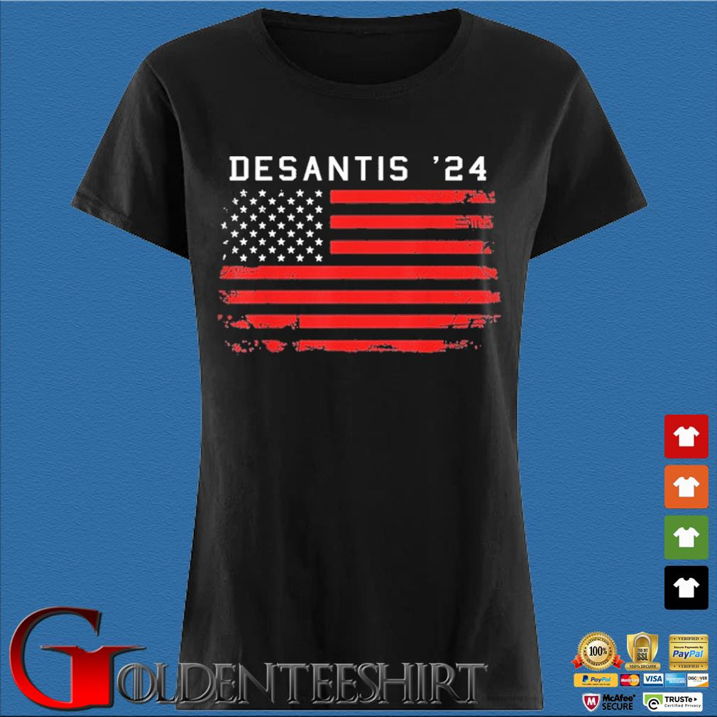Desantis 2024 Classic Us Shirt Den Ladies