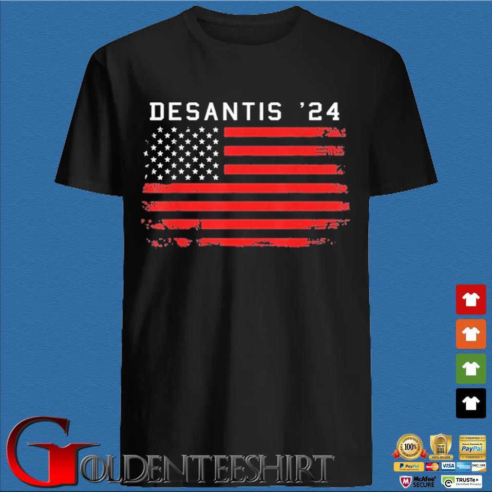 Desantis 2024 Classic Us Shirt