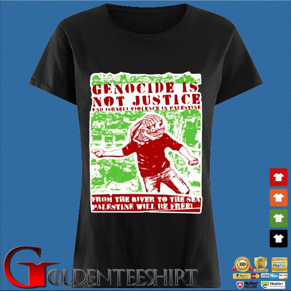 Genocide is not justice from the Palestine Den Ladies
