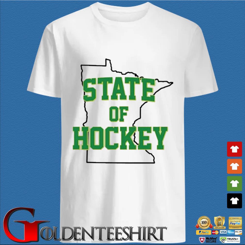 Minnesota State Of Hockey Shirt