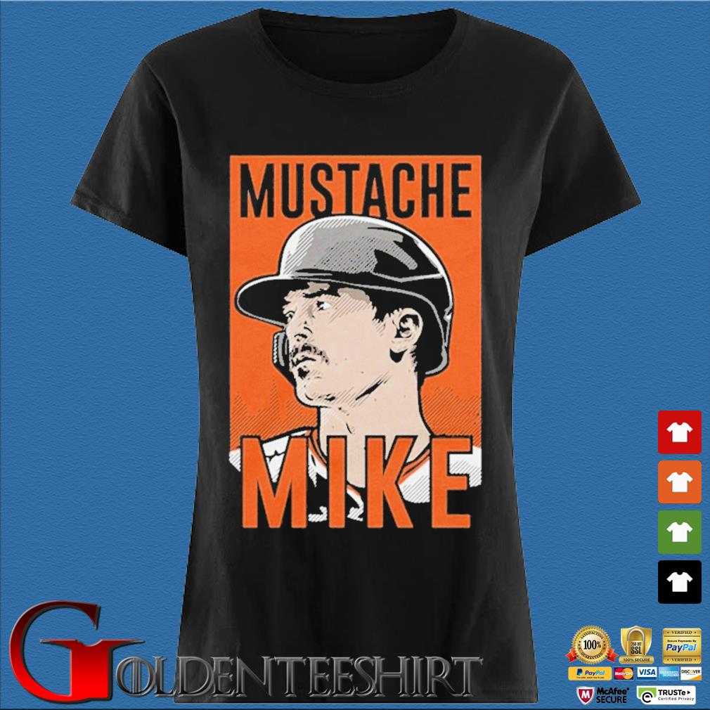 Mustache Mike Shirt Den Ladies