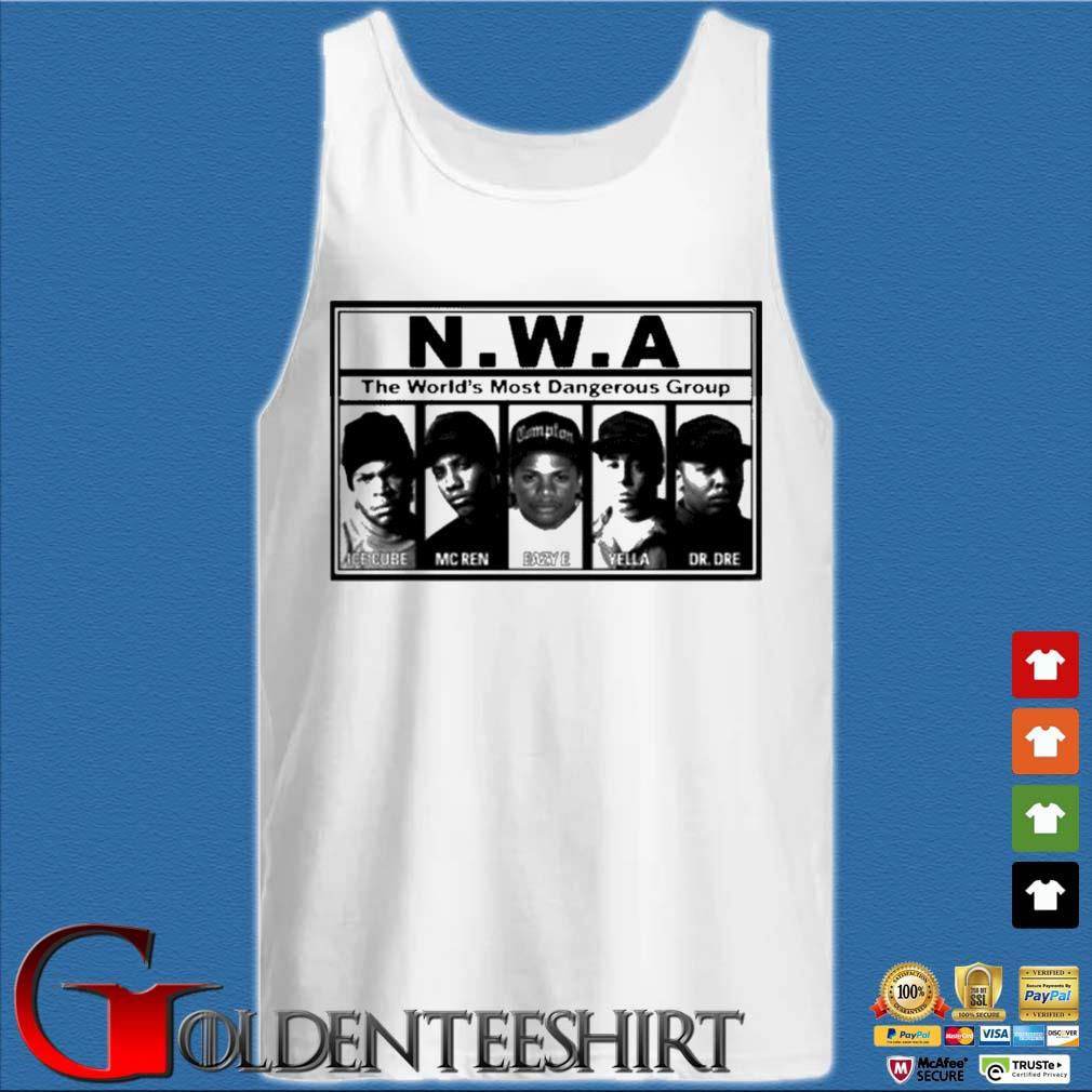 N.W.A The World's Most Dangerous Shirt Tank top trắng