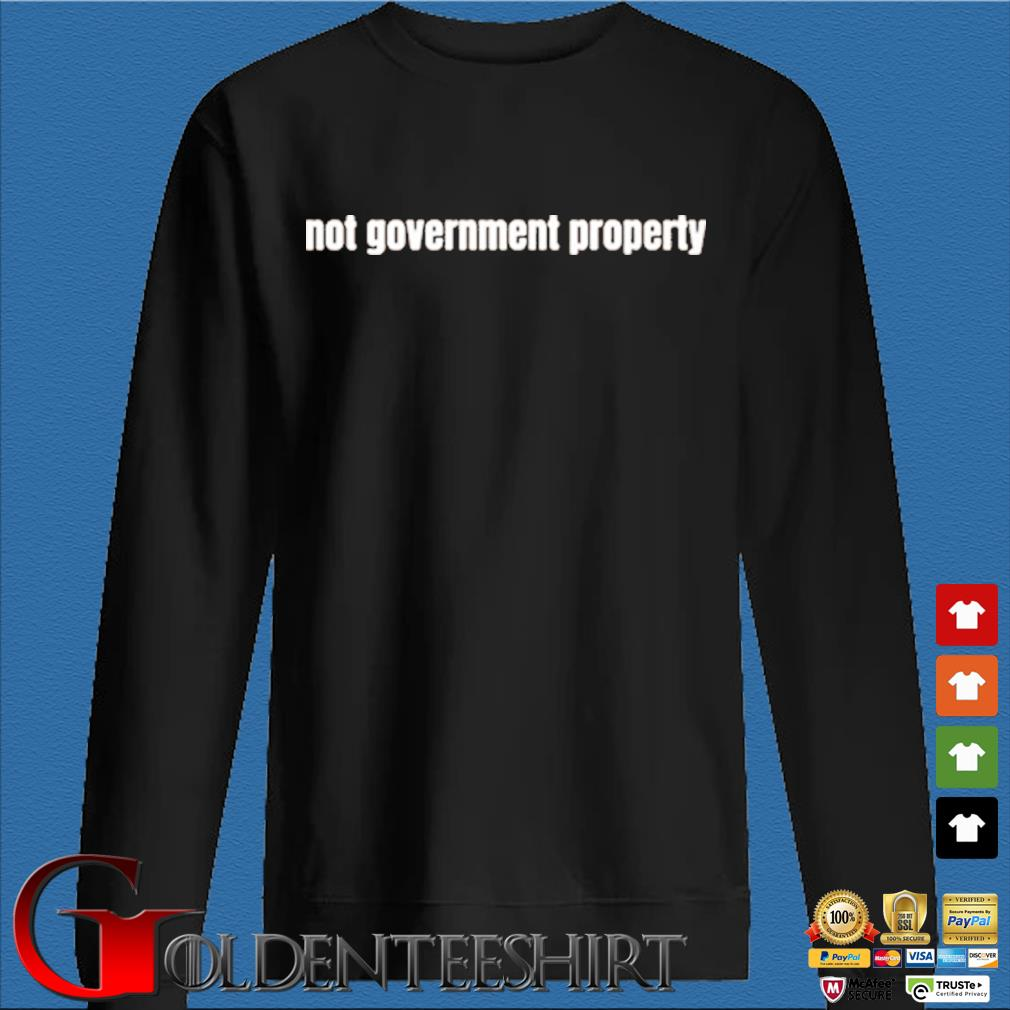 Not government property Den Sweater
