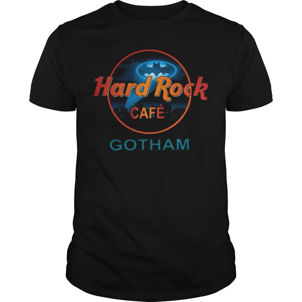 Hard Rock Cafe Gotham Shirt