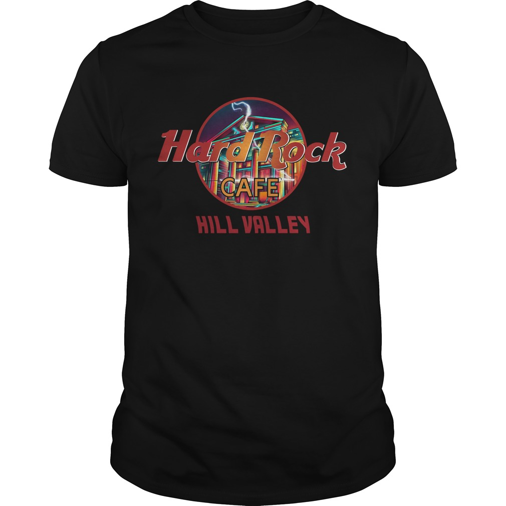 Hard Rock Cafe Hill Valley Shirt