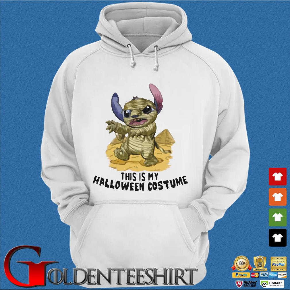 Mummy Stitch This Is My Halloween Costume Shirt