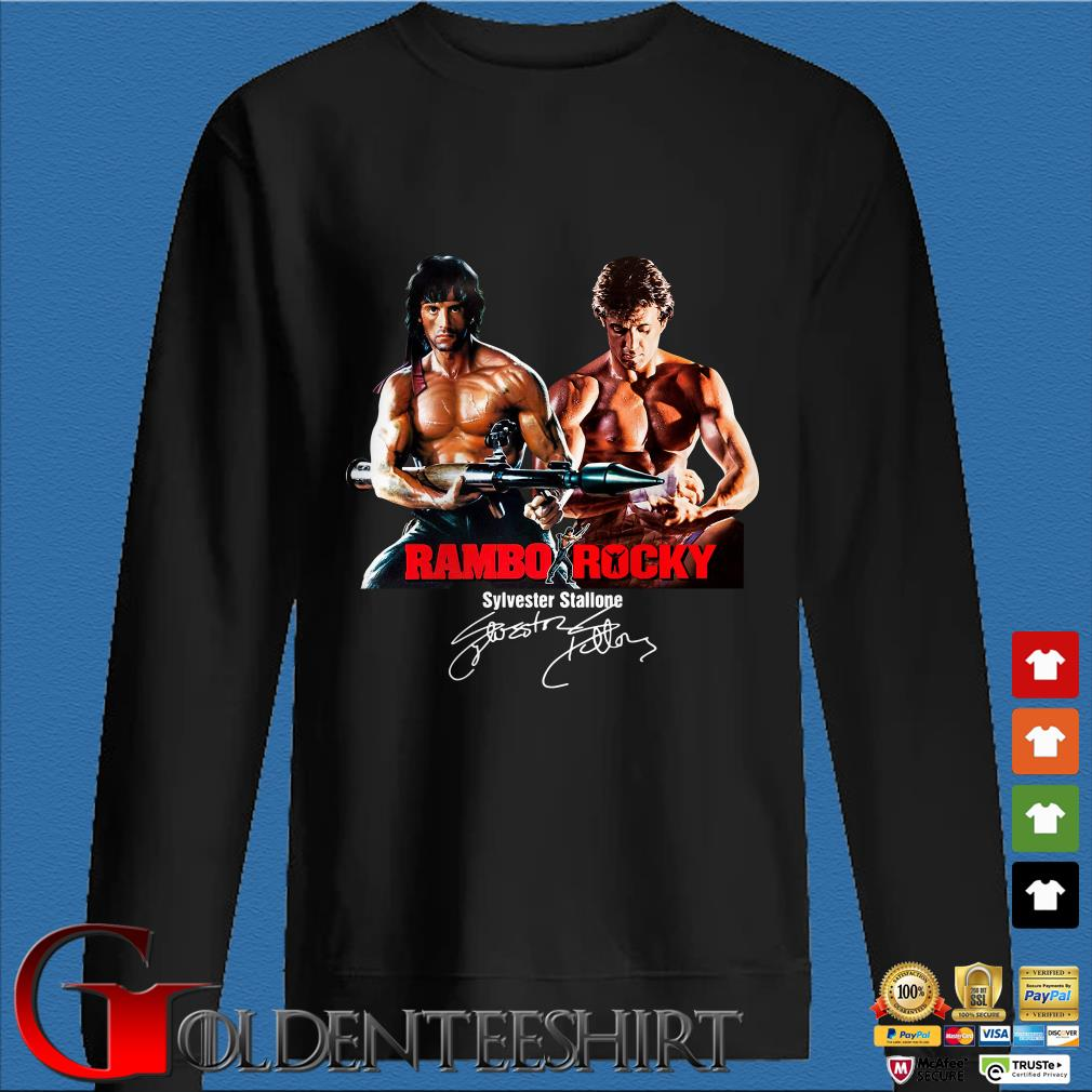 Rambo Rocky Sylvester Stallone Signature Shirt