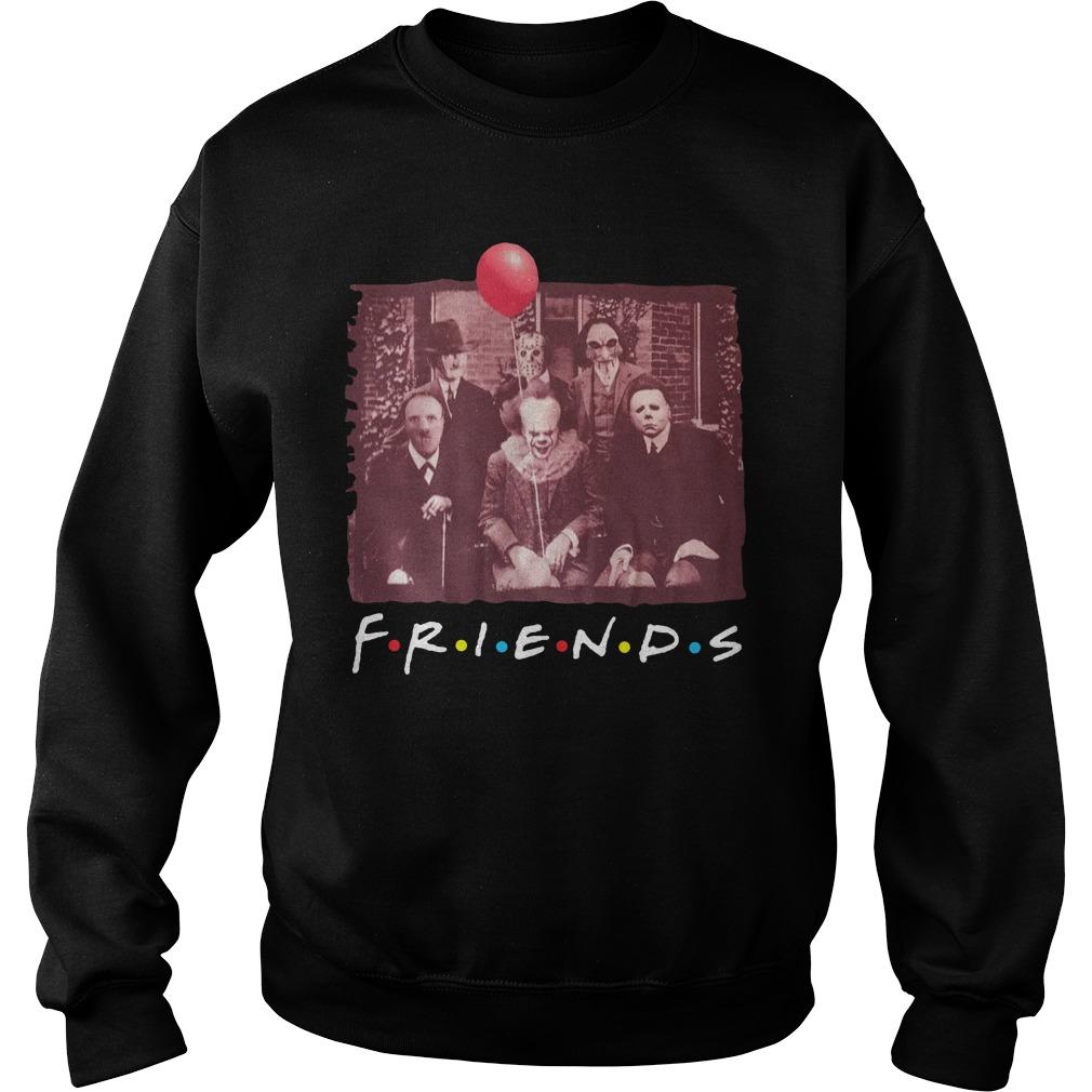 Team Horror Friends Halloween Shirt