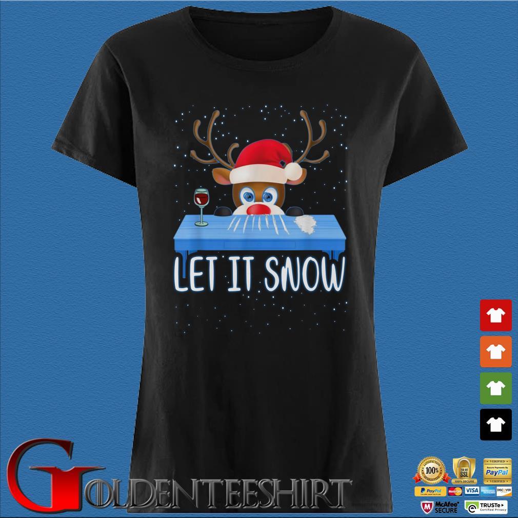 Walmart Cocaine Santa Reindeer Let It Snow Christmas Sweater